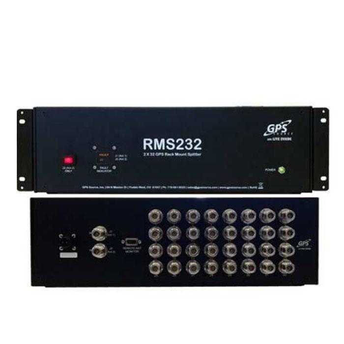 RMS232 GPS / GNSS Rack Mount Splitter