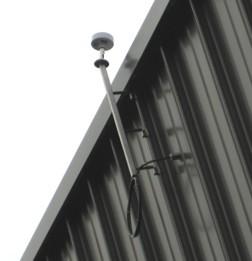 Bild Befestigung Antenne seitlich